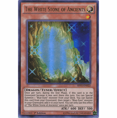 The White Stone of Ancients SHVI-EN022 Ultra Rare - YuGiOh Shining Victories Card