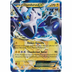 Thundurus EX BW81 - Pokemon Ultra Rare Promo Card