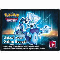 Thundurus EX Pokemon Team Plasma Tin Code Card
