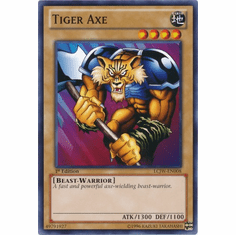 Tiger Axe LCJW-EN008 - YuGiOh Joey's World Common Card