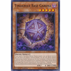 Tindangle Base Gardna EXFO-EN010 Common - YuGiOh Extreme Force