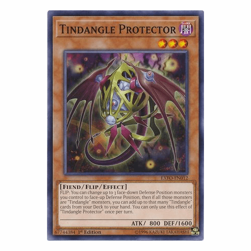 Tindangle Protector EXFO-EN012 Common - YuGiOh Extreme Force