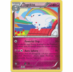 Togekiss 45/108 Rare - Pokemon XY Roaring Skies Card