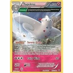 Togekiss 46/108 Holo Rare - Pokemon XY Roaring Skies Card