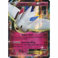Togekiss EX 83/122 Ultra Rare - Pokemon XY Breakpoint Card