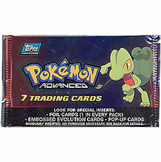 Topps Pokemon Advanced Card Pack