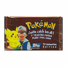 Topps Pokemon TV Animation Card Pack