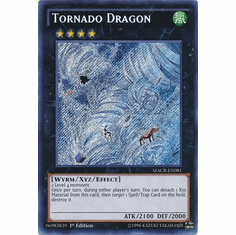 Tornado Dragon MACR-EN081 Secret Rare - YuGiOh Maximum Crisis Card