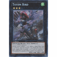 Totem Bird LTGY-EN086 - Lord Of The Tachyon Galaxy Secret Rare