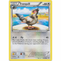 Tranquill 79/108 Uncommon - Pokemon XY Roaring Skies Card