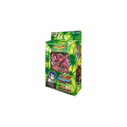Trial Deck 5: Ninja Onslaught Starter Deck - Future Card Buddyfight