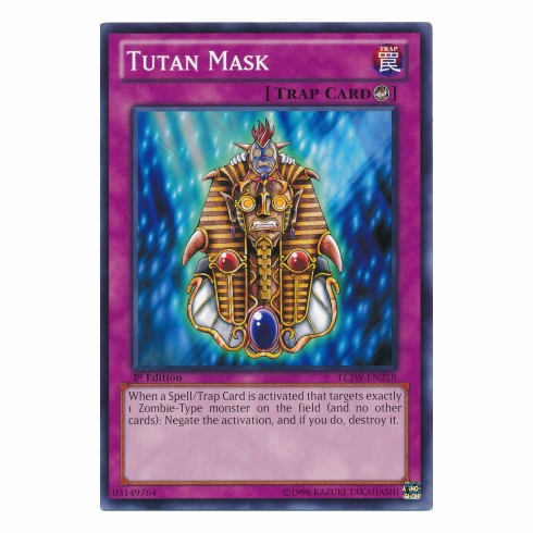 Tutan Mask LCJW-EN218 - YuGiOh Joey's World Common Card
