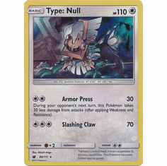 Type: Null 89/111 Holo Rare - Pokemon Crimson Invasion Card