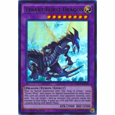 Tyrant Burst Dragon DRL3-EN058 Ultra Rare - YuGiOh Dragons of Legend Unleashed Card