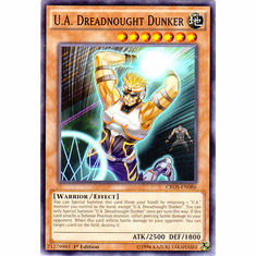 U.A. Dreadnought Dunker CROS-EN086 Common - YuGiOh Crossed Souls Card