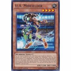 U.A. Midfielder NECH-EN087 - Rare The New Challengers Card