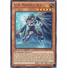 U.A. Perfect Ace DUEA-EN088 - Rare Duelist Alliance Card