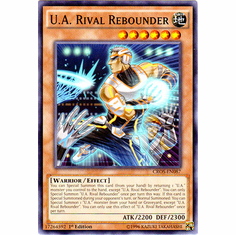 U.A. Rival Rebounder CROS-EN087 Common - YuGiOh Crossed Souls Card
