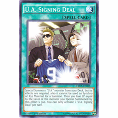 U.A. Signing Deal CROS-EN088 Common - YuGiOh Crossed Souls Card