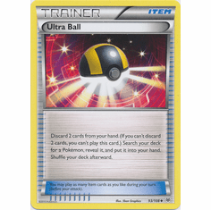 Ultra Ball 93/108 Uncommon - Pokemon XY Roaring Skies Card