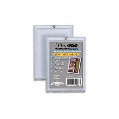 Ultra Pro 1 Screw Screwdown Thick Card Holder (100pt)