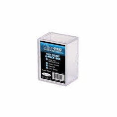 Ultra Pro 100ct Card Storage Plastic Box