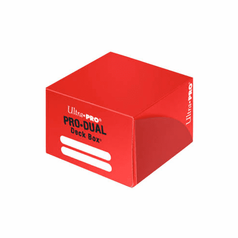 Ultra-Pro - PRO-Dual Deck Box - Red