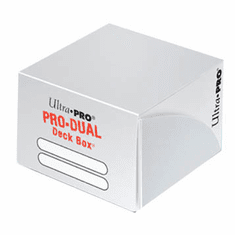 Ultra-Pro - PRO-Dual Deck Box - White