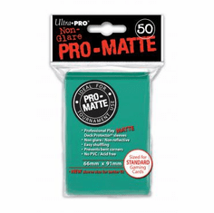 Ultra Pro Pro-Matte Standard Sized Sleeves - Aqua (50 Card Sleeves)