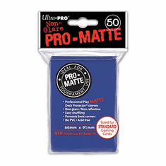 Ultra Pro Pro-Matte Standard Sized Sleeves - Blue (50 Card Sleeves)