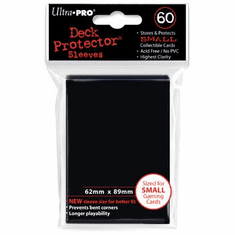 Ultra Pro Small Sized Sleeves - Black (60 Card Sleeves)