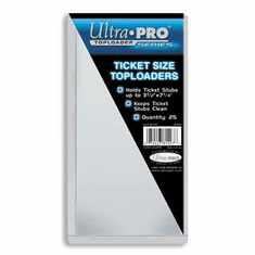 Ultra Pro Ticket Size Toploader Pack