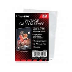 Ultra Pro Vintage Card Soft Sleeves (50-Pack)