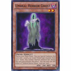 Umbral Horror Ghost PRIO-EN010 - YuGiOh Primal Origin Common Card