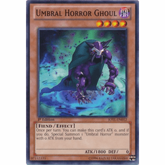 Umbral Horror Ghoul JOTL-EN012 - YuGiOh Judgment Of The Light Common Card