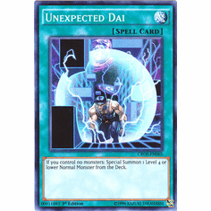 Unexpected Dai CROS-EN065 Super Rare - YuGiOh Crossed Souls Card