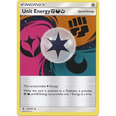 Unit Energy FDY 118/131 Uncommon - Pokemon Sun & Moon Forbidden Light Card