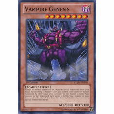 Vampire Genesis LCJW-EN198 - YuGiOh Joey's World Common Card