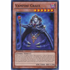 Vampire Grace SHSP-EN031 - YuGiOh Shadow Specters Common Card
