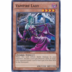 Vampire Lady GLD5-EN014 - YuGiOh Haunted Mine Common Card