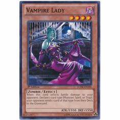 Vampire Lady LCJW-EN196 - YuGiOh Joey's World Common Card