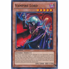 Vampire Lord LCJW-EN191 - YuGiOh Joey's World Common Card