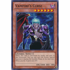 Vampire's Curse LCJW-EN204 - YuGiOh Joey's World Common Card