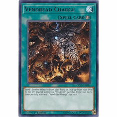 Vendread Charge EXFO-EN084 Rare - YuGiOh Extreme Force