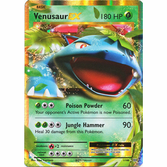 Venusaur EX 1/108 Ultra Rare - Pokemon XY Evolutions Single Card