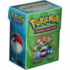 Venusaur Pokemon Deck Box w/60 Sleeves