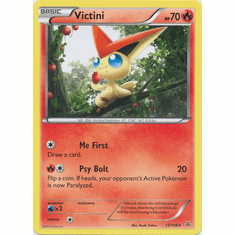 Victini 13/108 Rare - Pokemon XY Roaring Skies Card