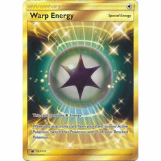 Warp Energy 123/111 Secret Rare - Pokemon Crimson Invasion Card