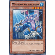 Warrior of Atlantis SDRE-EN013 - Realm of the Sea Emperor Common Card