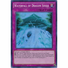 Waterfall of Dragon Souls MACR-EN078 Super Rare - YuGiOh Maximum Crisis Card